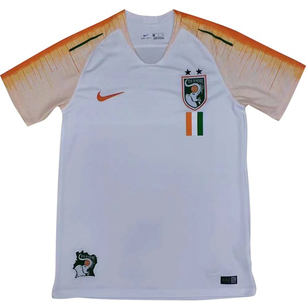 Magasin Foot Nike DomiChili Maillot Côte d'Ivoire 2018 Blanc