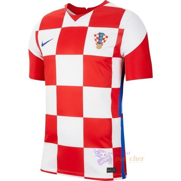 Magasin Foot Nike Domicile Maillot Croatie 2020 Rouge