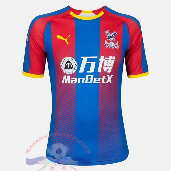 Magasin Foot PUMA Domicile Maillots Crystal Palace 18-19 Bleu