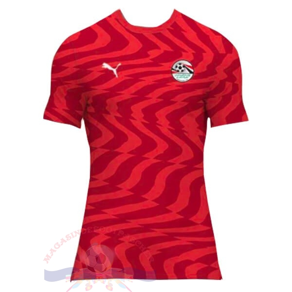 Magasin Foot PUMA Domicile Maillot Égypte 2019 Rouge