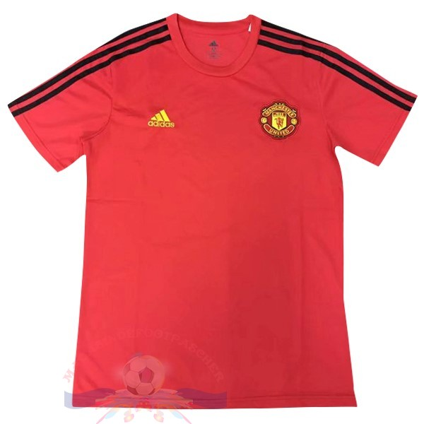 Magasin Foot Adidas Entrainement Manchester United 2019 2020 Rouge