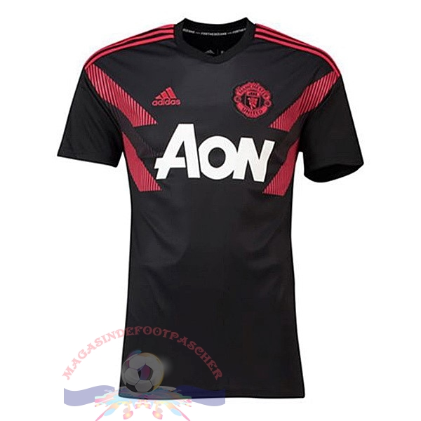 Magasin Foot adidas Entrainement Manchester United 2018-2019 Noir