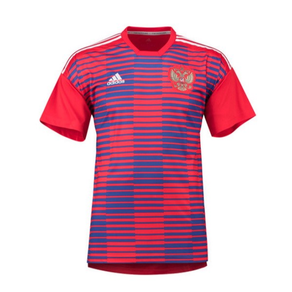 Magasin Foot adidas Entrainement Russie 2018 Rouge Bleu
