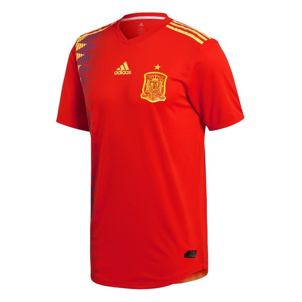 Magasin Foot adidas Domicile Maillots Espagne 2018 Rouge