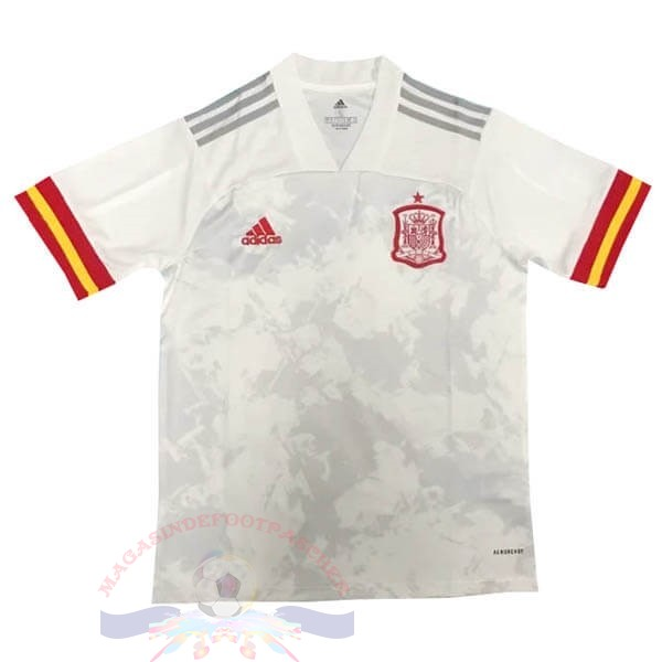 Magasin Foot adidas Thailande Exterieur Maillot Espagne 2020 Blanc
