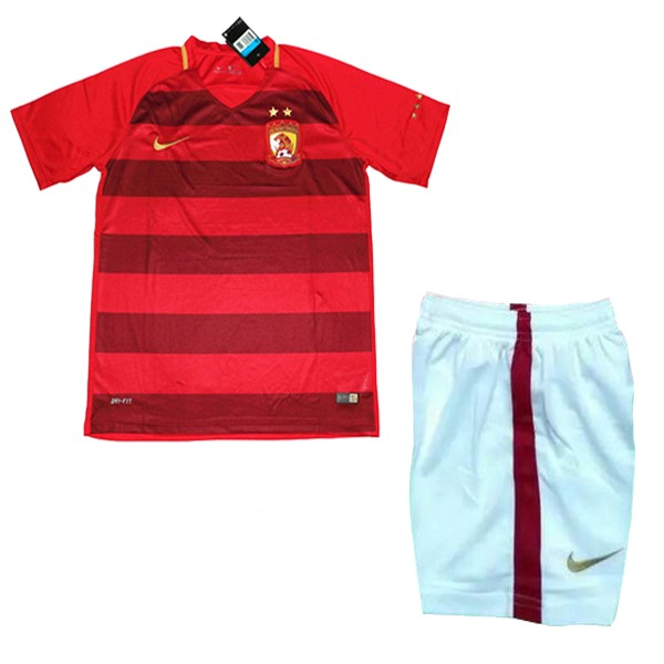 Magasin Foot Nike Domicile Ensemble Enfant Evergrande 2017 2018 Rouge Blanc