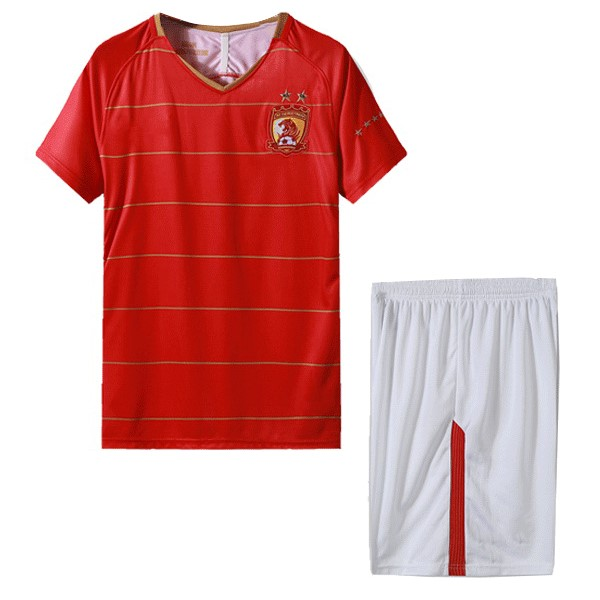Magasin Foot Nike Domicile Ensemble Enfant Evergrande 2018 2019 Rouge Blanc