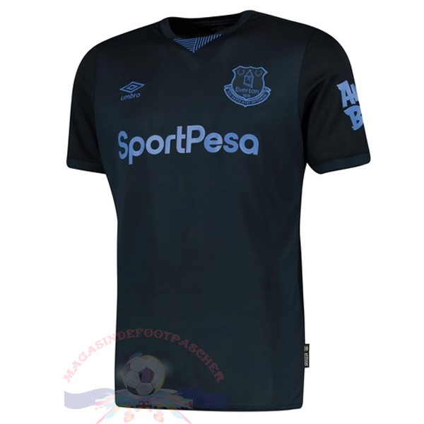 Magasin Foot umbro Third Maillot Everton 2019 2020 Noir