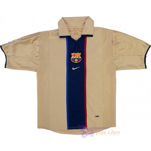 Magasin Foot Nike Exterieur Maillot Barcelone Rétro 2001 2003 Jaune