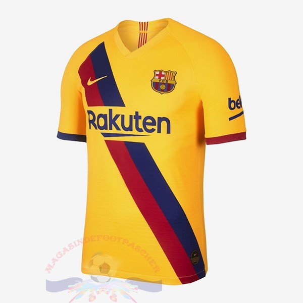 Magasin Foot Nike Exterieur Maillot Barcellona 2019 2020 Amarillo