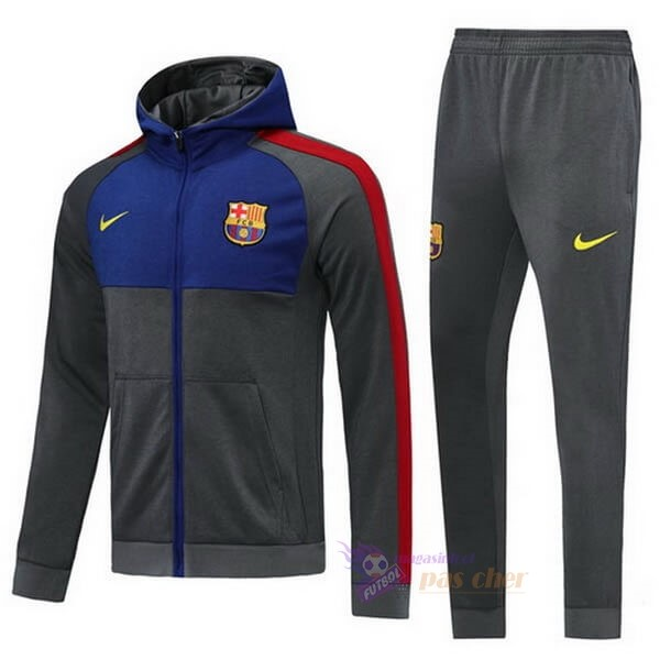 Magasin Foot Nike Survêtements Barcelone 2020 2021 Gris