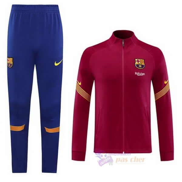 Magasin Foot Nike Survêtements Barcelone 2020 2021 Purpura Rouge