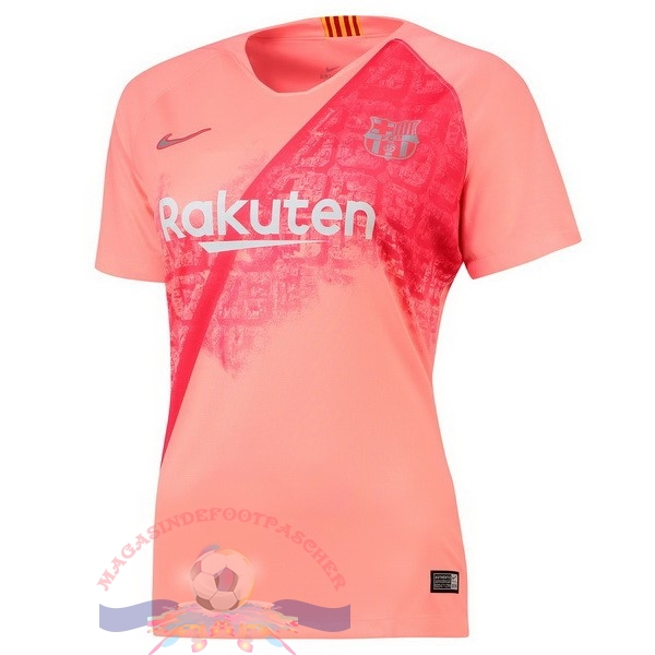 Magasin Foot Nike Third Maillots Femme Barcelona 2018-2019 Rouge