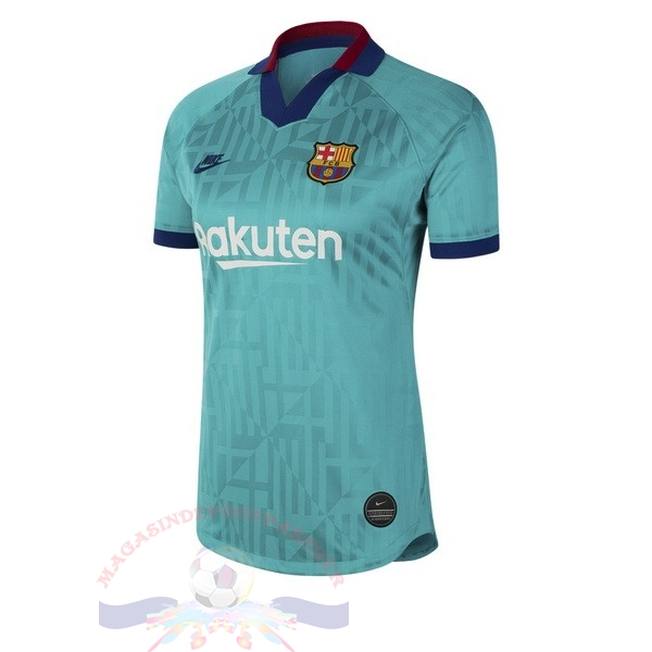 Magasin Foot Nike Third Maillot Femme Barcelona 2019 2020 Vert
