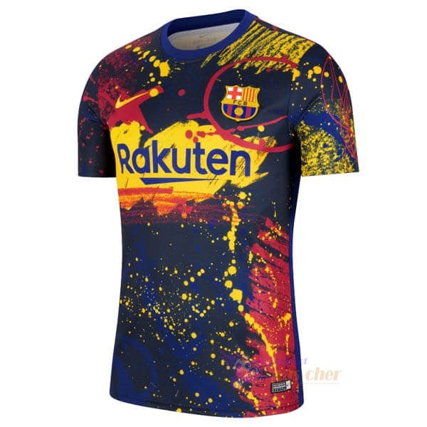 Magasin Foot Nike Pre Match Maillot Barcelone 2020 Rouge Bleu