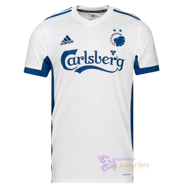 Magasin Foot adidas Domicile Maillot Copenhague 2020 2021 Blanc