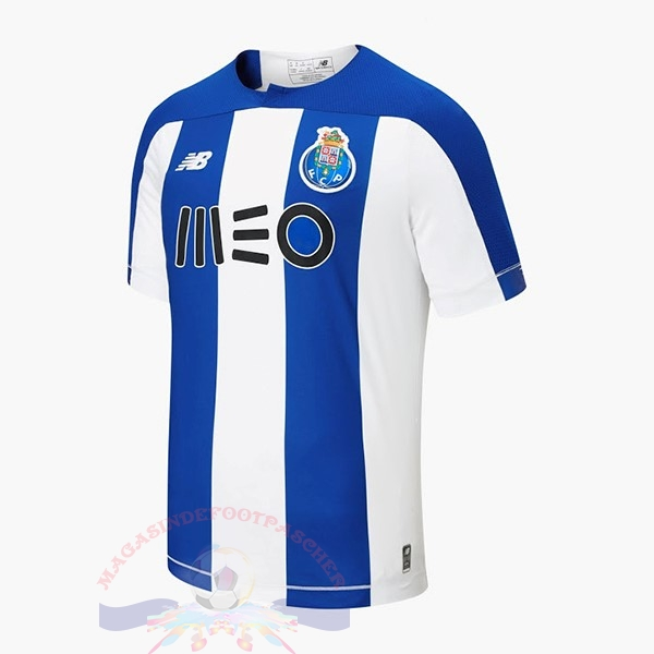 Magasin Foot New Balance Domicile Maillot FC Oporto 2019 2020 Blanc Bleu