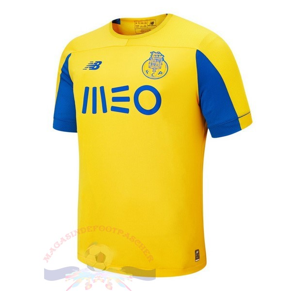 Magasin Foot New Balance Exterieur Maillot FC Oporto 2019 2020 Jaune