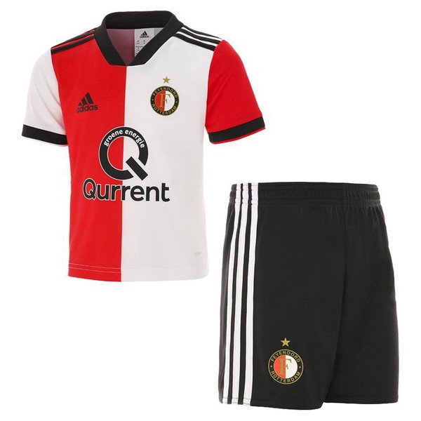 Magasin Foot adidas Domicile Ensemble Enfant Feyenoord Rotterdam 2018 2019 Rouge