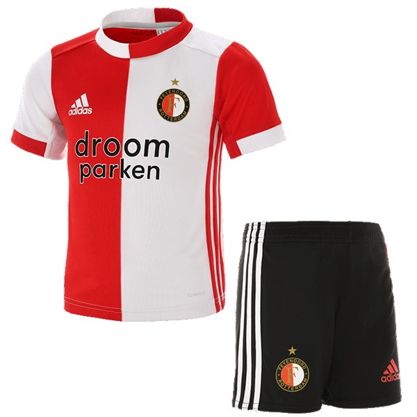 Magasin Foot adidas Domicile Ensemble Enfant Feyenoord Rotterdam 2019 2020 Rouge