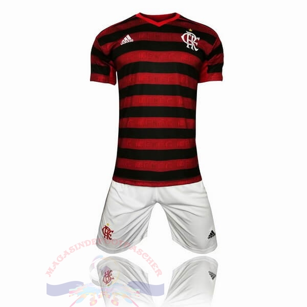 Magasin Foot adidas Domicile Ensemble Enfant Flamengo 2019 2020 Rouge