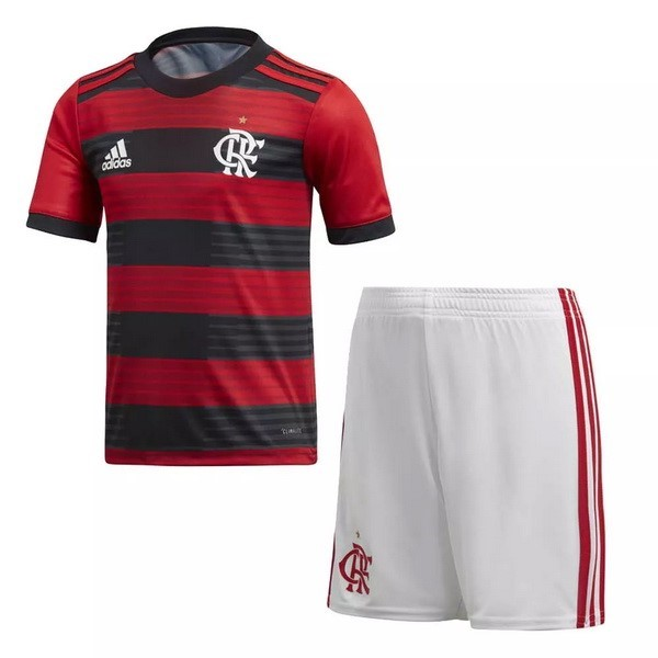 Magasin Foot adidas Domicile Ensemble Enfant Flamengo 2018 2019 Rouge
