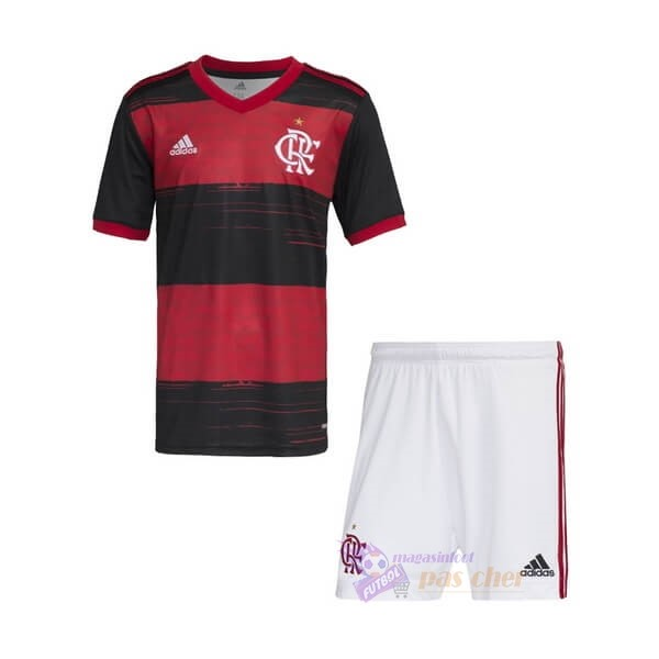 Magasin Foot adidas Domicile Ensemble Enfant Flamengo 2020 2021 Rouge