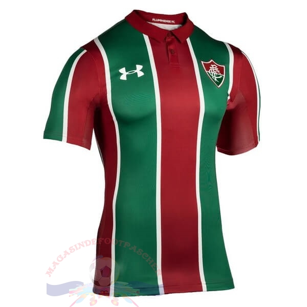 Magasin Foot Under Armour Domicile Maillot Fluminense 2019 2020 Rouge Vert