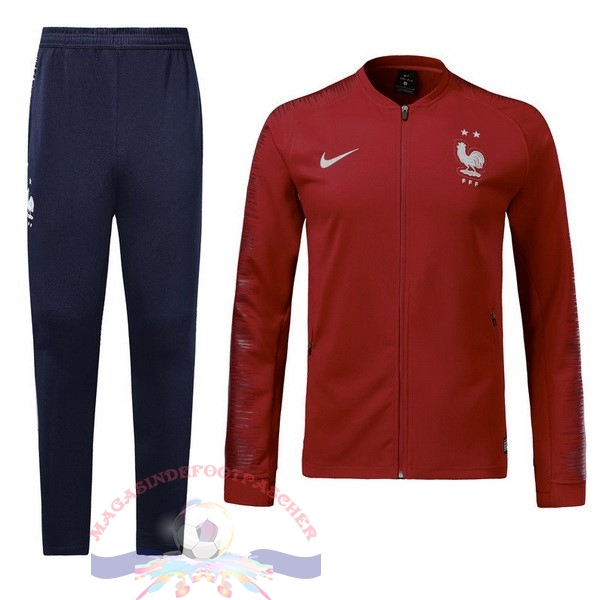 Magasin Foot Nike FIFA Survêtements Enfant France 2018 Rouge