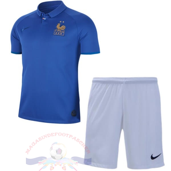 Magasin Foot Nike Ensemble Enfant France 100th Bleu
