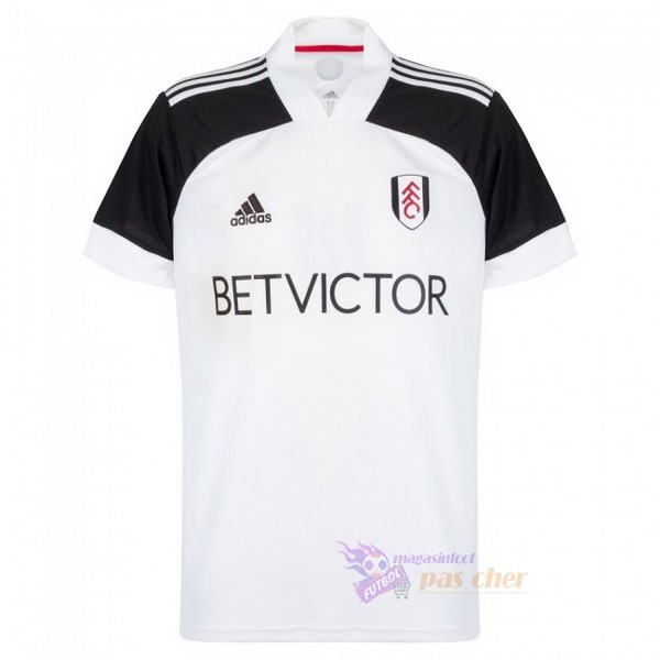 Magasin Foot adidas Domicile Maillot Fulham 2020 2021 Blanc