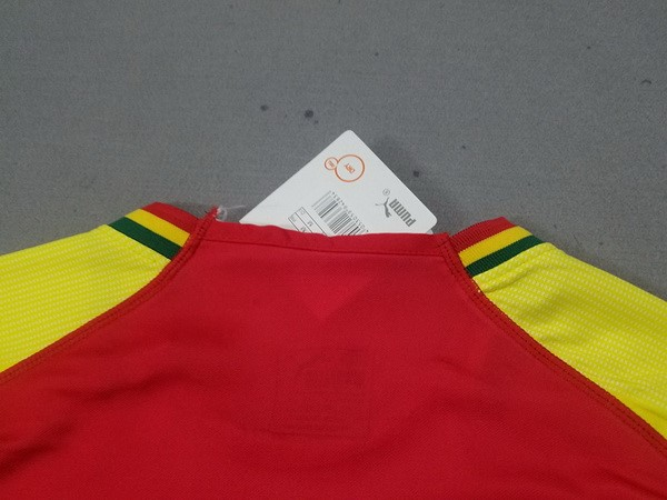 Magasin Foot PUMA Thailande Domicile Maillots Ghana 2018 Rouge