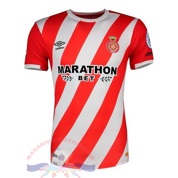 Magasin Foot umbro Domicile Maillots Girona 18-19 Rouge
