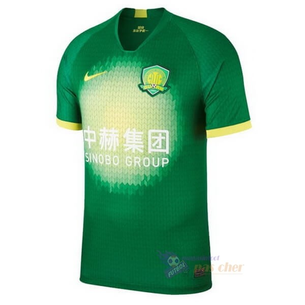 Magasin Foot Nike Domicile Maillot Guoan 2020 2021 Vert