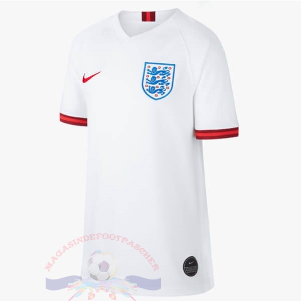 Magasin Foot Nike Domicile Maillot Femme Angleterre 2019 Blanc