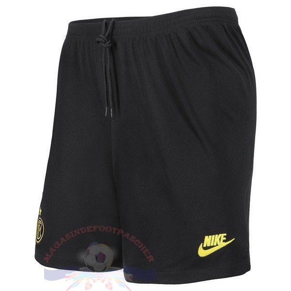 Magasin Foot Nike Third Pantalon Inter Milán 2019 2020 Noir