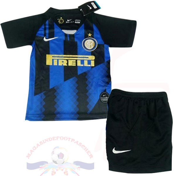 Magasin Foot Nike Conjunto De Enfant Internazionale Milano 20Th Bleu Noir