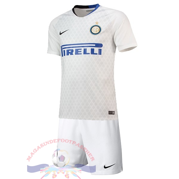 Magasin Foot Nike Exterieur Ensemble Enfant Internazionale Milano 2018-2019 Blanc