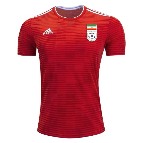 Magasin Foot adidas Exterieur Maillots Iran 2018 Rouge