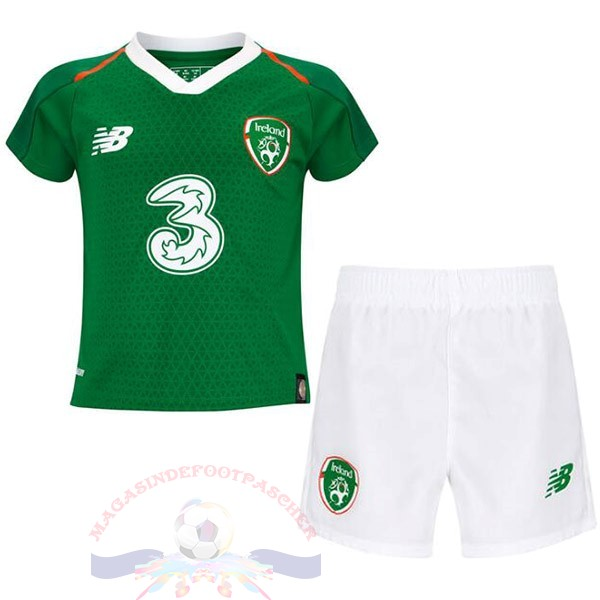 Magasin Foot New Balance DomiChili Conjunto De Enfant Irlande 2019 Vert