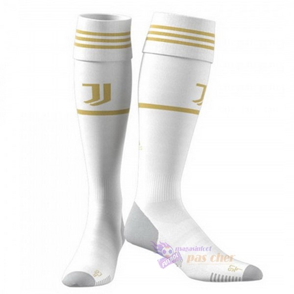 Magasin Foot adidas Domicile Chaussette Juventus 2020 2021 Blanc