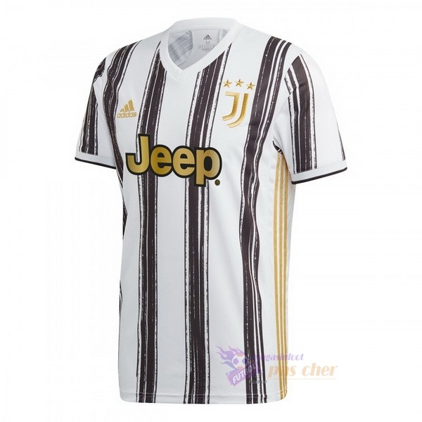 Magasin Foot adidas Domicile Maillot Juventus 2020 2021 Blanc Noir