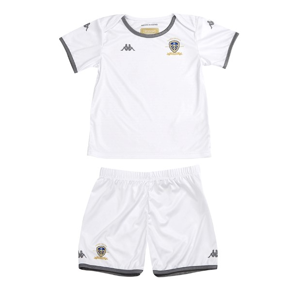 Magasin Foot Kappa Domicile Maillot Ensemble Enfant Leeds United 2019 2020 Blanc