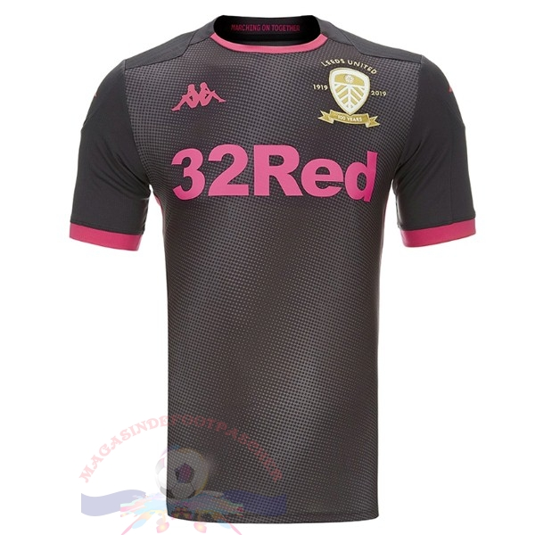 Magasin Foot Kappa Exterieur Maillot Leeds United 2019 2020 Gris