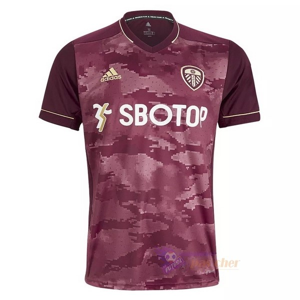 Magasin Foot adidas Third Maillot Leeds United 2020 2021 Rouge