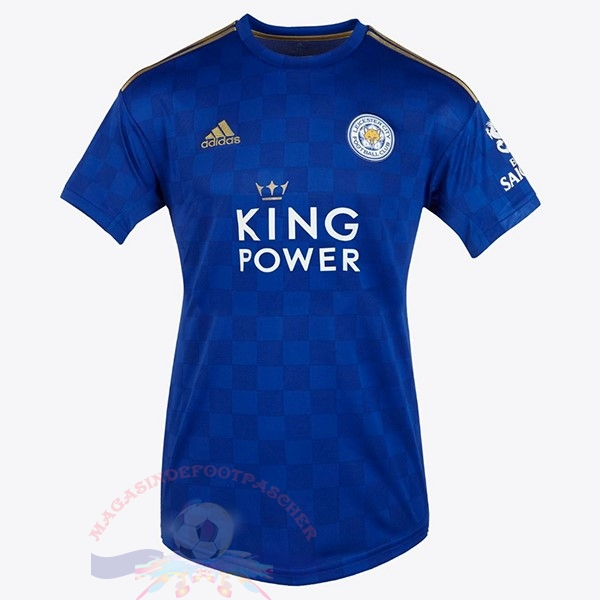 Magasin Foot adidas Domicile Maillot Femme Leicester City 2019 2020 Bleu