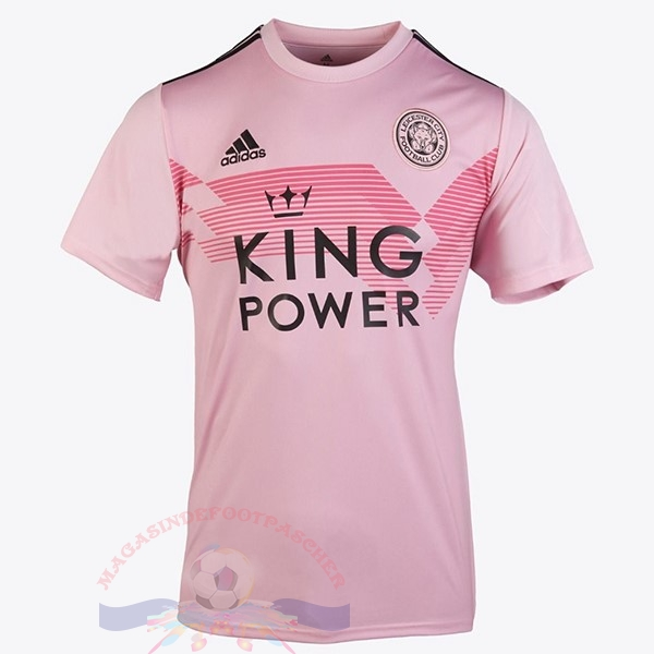 Magasin Foot adidas Exterieur Maillot Femme Leicester City 2019 2020 Rose