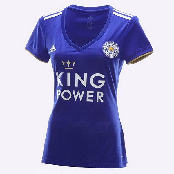 Magasin Foot PUMA Domicile Maillots Femme Leicester City 2018 2019 Bleu