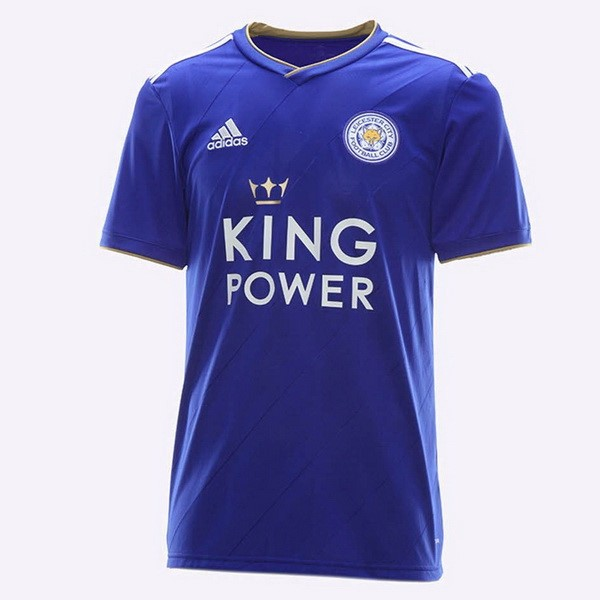 Magasin Foot PUMA Thailande Domicile Maillots Leicester City 2018 2019 Bleu