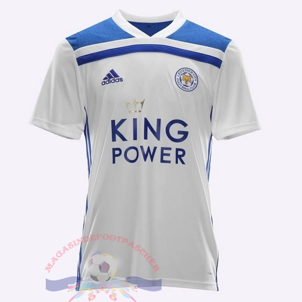 Magasin Foot adidas Thailande Third Maillots Leicester City 2018-2019 Blanc